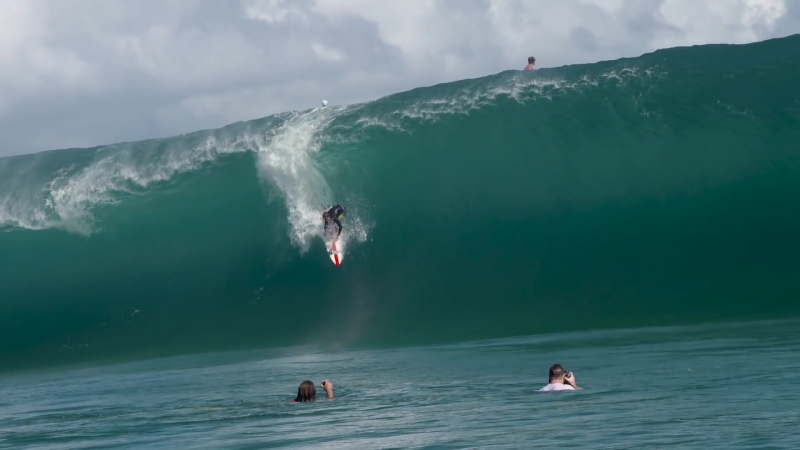 Nathan Florence´s Impossible Paddle-in Wave at Teahupoo 1080p