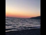 Лучший пляж за время путешествия по побережью Черного моря. Абхазия г. Гагра.