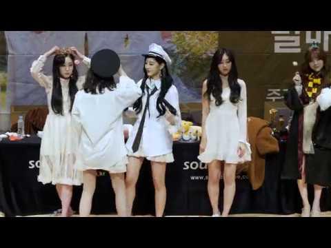 [FANCAM/4K60P] 181223 러블리즈 인천 비즈니스센터 팬사인회 (Lovelyz, Fan signing cam)