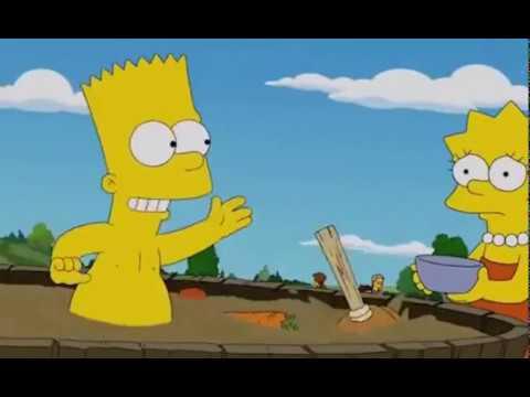 СИМПСОНЫ Зомби апокалипсис Барт избранный