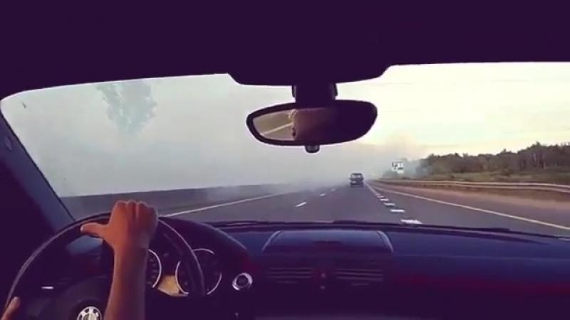 «Призрачный гонщик» на Московском шоссе