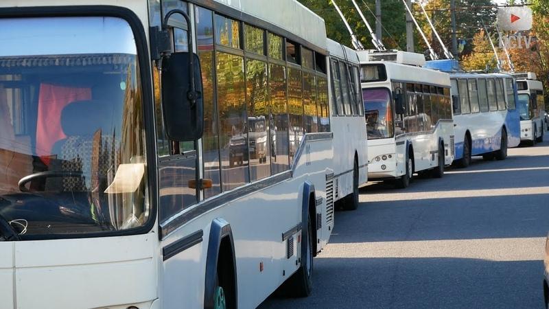 Майстри паркування заблокували рух тролейбусів на 4 години