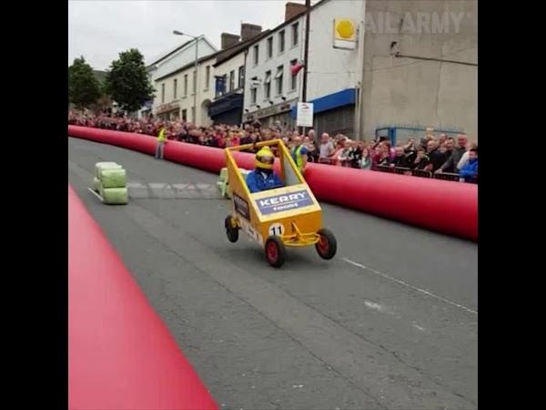 Colocar uma rampa de salto na corrida de rua não foi uma boa ideia