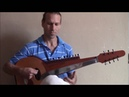 HYBRID: Wood Sarod/ Indian Slide Guitar