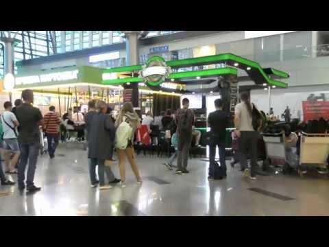 Россия-Хорватия. Как смотрели футбол во Внуково, терминал «А».