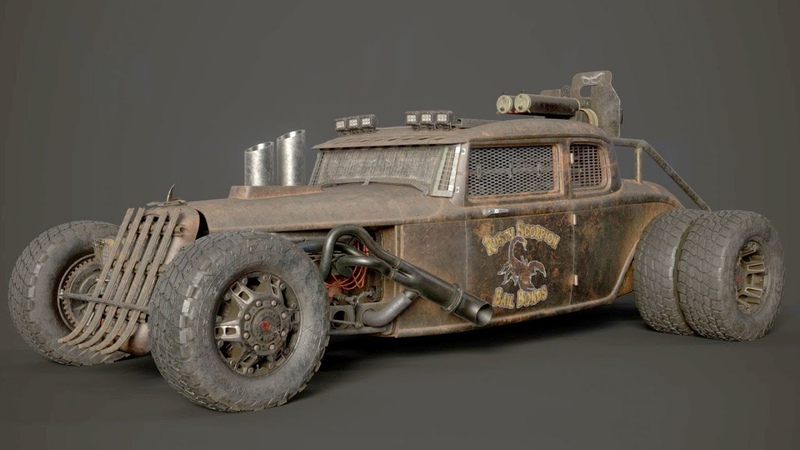 Vehicle Texturing in Substance Painter: From Clean to Mean with James Schauf