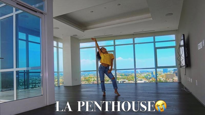 MY NEW EMPTY APARTMENT TOUR! LA PENTHOUSE!! | jasmeannnn