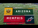 AAF 2019 / Week 02 / Arizona Hotshots - Memphis Express / EN