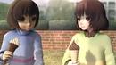 Undertale animation ^15^ Соси мороженку [MMD]
