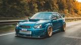 Subaru Impreza WRX STI  Cinematic Car Edit  Wide Body  Stance Nation