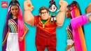 ТЫ НЕ ПОВЕРИШЬ! РАДУЖНАЯ БАРБИ и куклы РАЛЬФ против интернета. Куклы Лол Кукольные Новости № 3