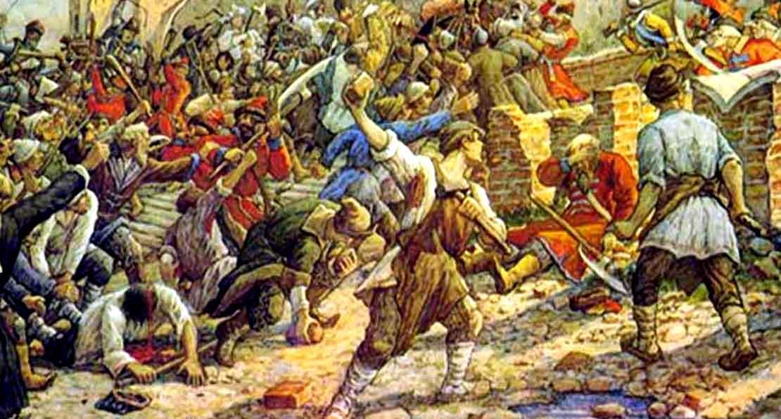 Восстание в Могилеве