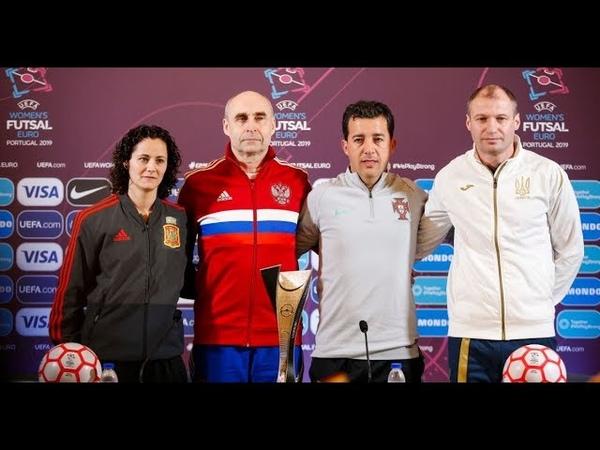 Europeu Futsal Fem. Ambições reveladas pelos técnicos