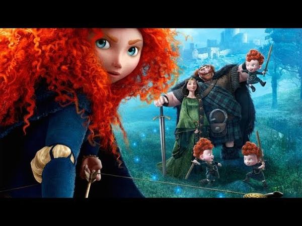 Brave français rebelle jeu de film complet Disney Pixar film Brave princesse disney Merida