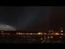 Приближение мощной грозы к городу Лейк-Сити Миннесота, 20 сентбря 2018.