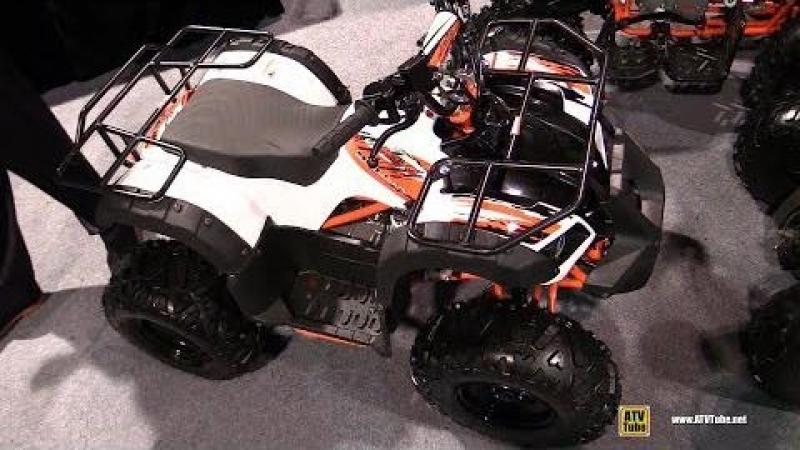 2018 Kayo Bull 125 ATV - Walkarond - 2017 SEMA Las Vegas