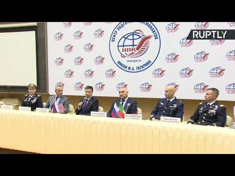 Предполётная пресс-конференция нового экипажа МКС