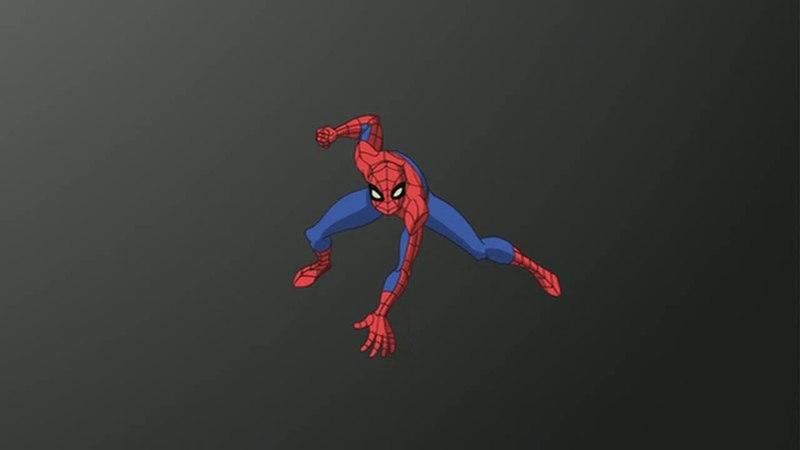 Грандиозный Человек-Паук. Человек-Паук против симбиота (720р).
