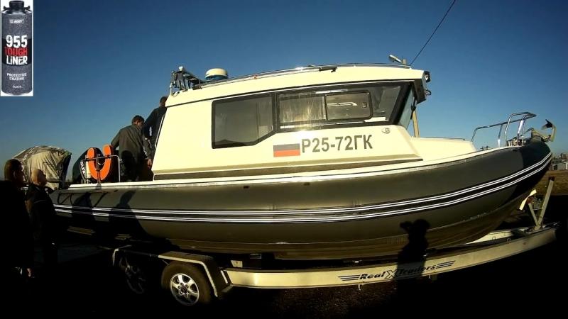 HB BODY 955 ходовые испытания на катерах береговой охраны