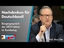 Bürgergespräch: Nachdenken für Deutschland! mit Max Otte - AfD-Fraktion im Bundestag