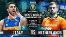 Italy vs. Netherlands   Highlights   Mens World Championship 2018