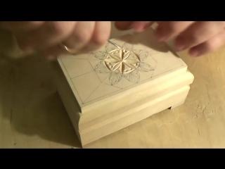 Мастер-класс: Геометрическая резьба по шкатулке.