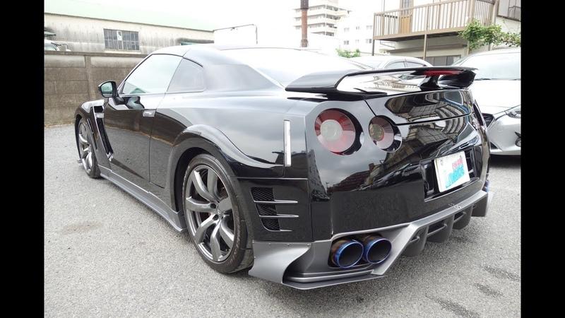 【日産 GT-R DBA-R35 エアロパーツ取付・塗装】 東京都小平市からのご来店 ガレ12540