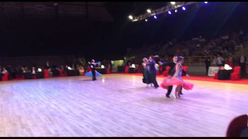 Italy ProAm Smooth Championship - Эрнест, Анна