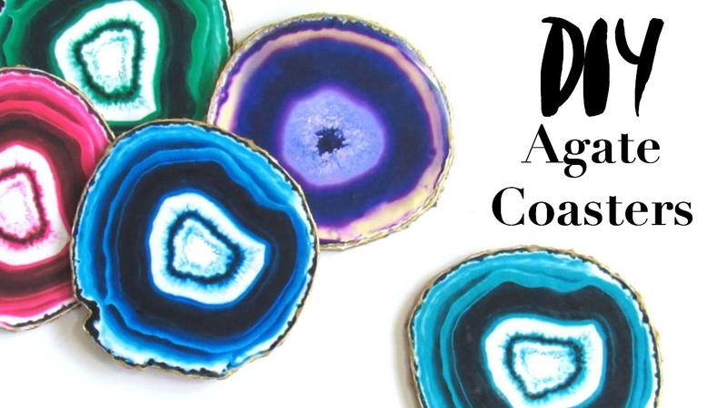 DIY Faux Crystal Geode Coasters   ItzaMeylin