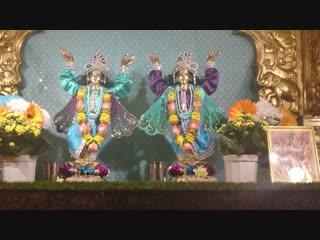 Darshan of Shri Shri Nitai Chaitanya Chandra