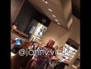 Justin visited Starbucks in New York (September 15)
