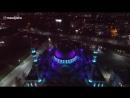 Ночной вид Центральной Джума-мечеть г. Махачкалы