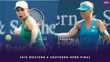 Simona Halep vs. Kiki Bertens 2018 Western &amp Southern Open Final WTA Highlights