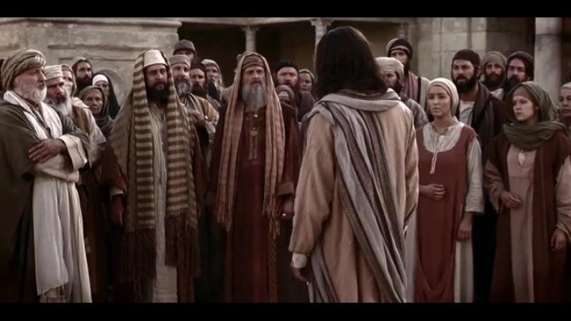 Иисус провозглашает: Я -- свет миру, истина сделает вас свободными