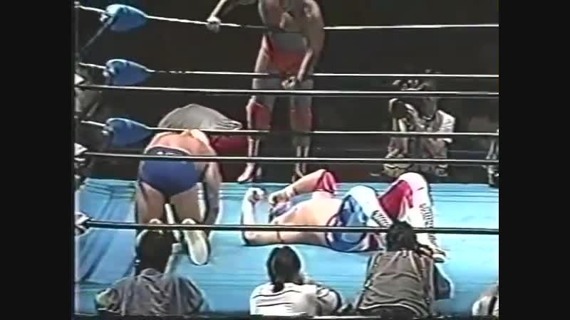 1996.10.13 - NTV All Japan Pro Wrestling Relay