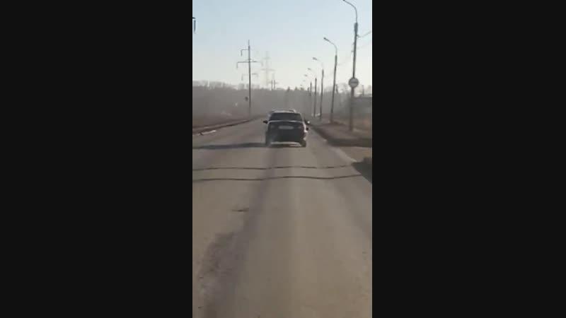 Стерлитамак, ул. Водолаженко 15.11.18 пьяный водитель нексии