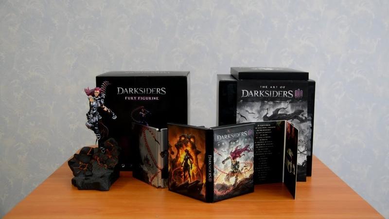 Распаковка коллекционного издания Darksiders 3