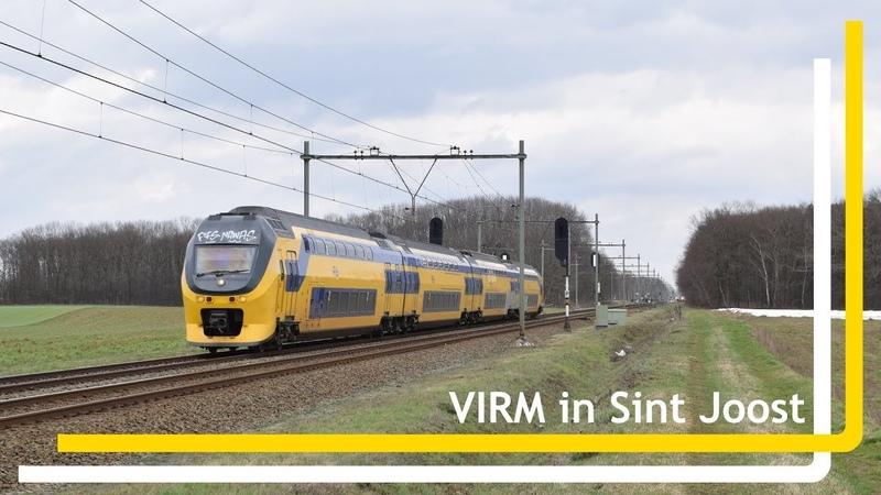 VIRM 9562 komt door Sint Joost
