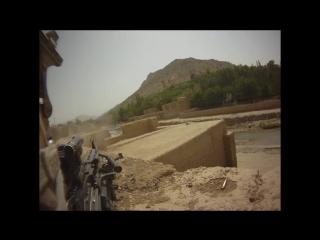 FIREFIGHT ON HELMET CAM IN AFGHANISTAN - PART 1 _ FUNKER530