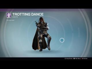Destiny_20180126 HUNTER vers40 . TROTTING DANCE .