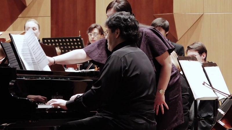 В.А. Моцарт. Концерт для двух ф-но с оркестром. № 7 F dur.