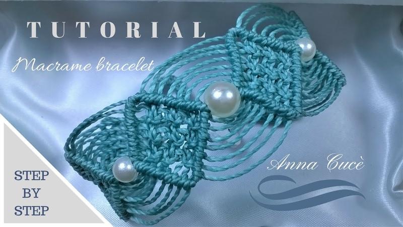 Tutorial macramè bracciale Maya/ Tutorial macramè bracelet Maya/ Diy tutorial