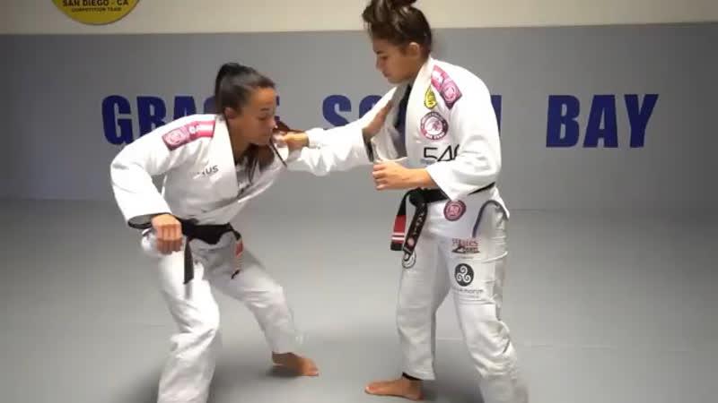 Летти Рибейро ko-uchi-gari -> ko-uchi-gake