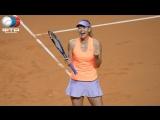 Maria Sharapova vs Caroline Garcia  Stuttgart 1R
