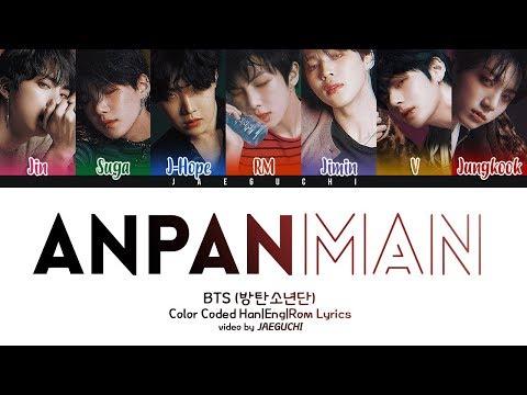 BTS (방탄소년단) 'ANPANMAN' Lyrics [Color Coded Han Rom Eng]