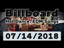 Billboard Hot Dance/Electronic/EDM Songs TOP 50 (July 14, 2018)