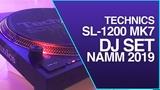 NAMM 2019 Technics SL-1200 MK7 DJ Set Progressive Vinyl Mix