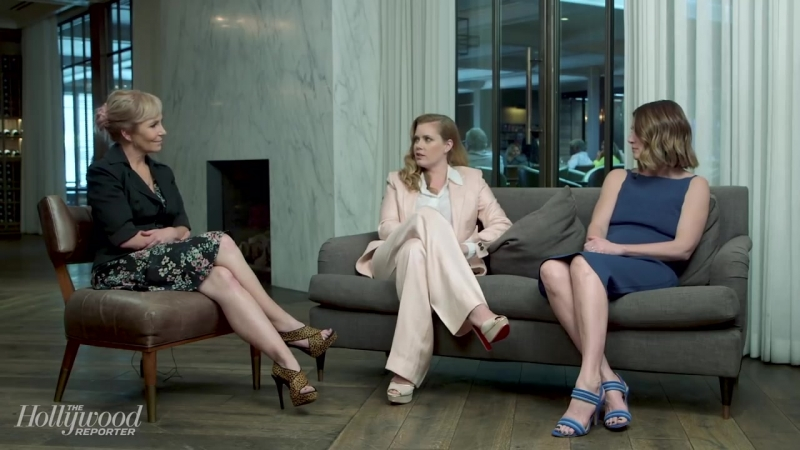 Amy Adams, Gillian Flynn, Creator Marti Noxon on HBOs Sharp Objects _ THR