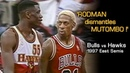 Dennis Rodman's Epic MIND GAMES With Mutombo Laettner! Full Series Hlts Vs. Hawks (1997 Playoffs)