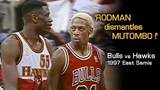 Dennis Rodman's Epic MIND GAMES With Mutombo &amp Laettner! Full Series Hlts Vs. Hawks (1997 Playoffs)